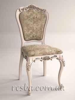 Представляем Вам резной стул Ch05 от кухонного гарнитура. Ножки кабриоль и гнутая спинка придают этому стулу изящные формы. Очень красиво смотрится в патине под дерево. Возможно заказать кухонный гарнитур на шесть персон. В него будет входить резной обеденный стол и шесть резных кухонных стульев сделанных в одном стиле. Информация для заказа. Размеры: согласно ГОСТа (возможны индивидуальные размеры). Материал: ясень, дуб. Дуб +20% стоимости. Наличие: под заказ.