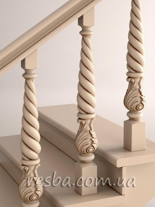 Как установить балясины на деревянную лестницу - пошаговая