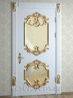 Межкомнатная или входная деревянная дверь D3-32. Возможно исполнение глухое или со стеклом. В стоимость входит дверное полотно 800х2000мм. из массива ясеня, дверная лутка шириной 100мм., наличники на одну сторону.